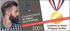 Champion de France Coiffure